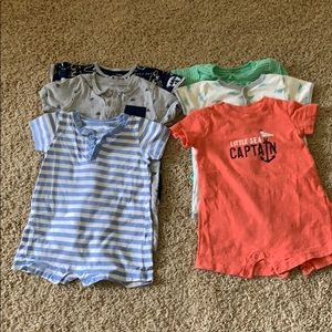 Carter's one piece 12-18 month (6 pieces)